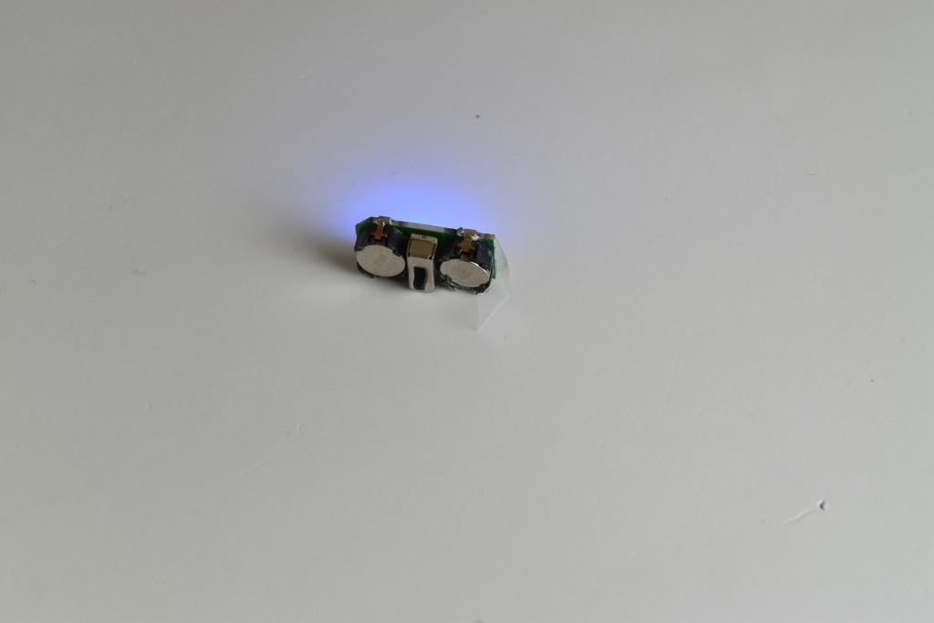 インコ先生の個体はやや電池の接触に癖がありました。修理に出そうかな。。。