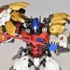 PE-DX05 レオニダス (ライオコンボイみたいな人) レビュー いや、マジすごいっす!